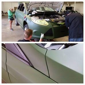 Ford Focus Color Change