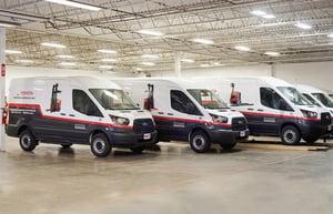 Toyota Material Handling Fleet