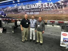 VMS and Trailstar International at the Mid-America Trucking Show