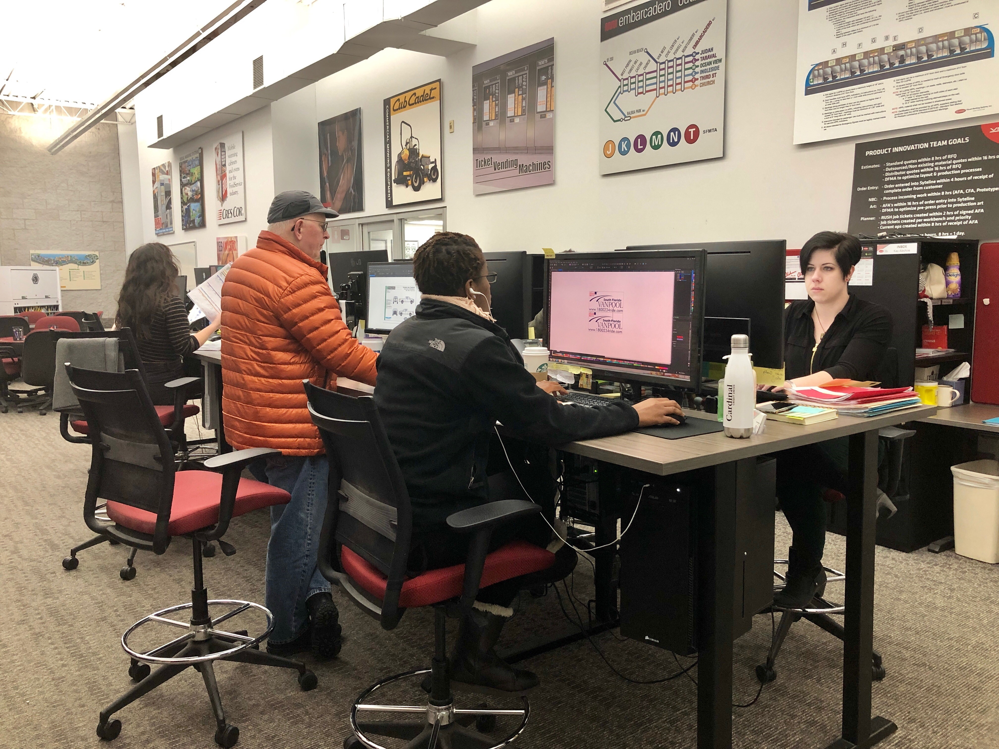 VMS Graphic Designers